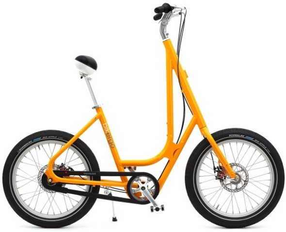 Bikergo in mimosa yellow