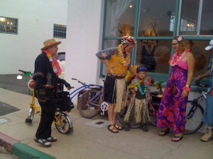 "A Few iPhone Photos from June's ArtRide ""Get Lei'd"""