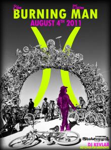 "Bike Moves Hosts ""Burning Man"" Ride"